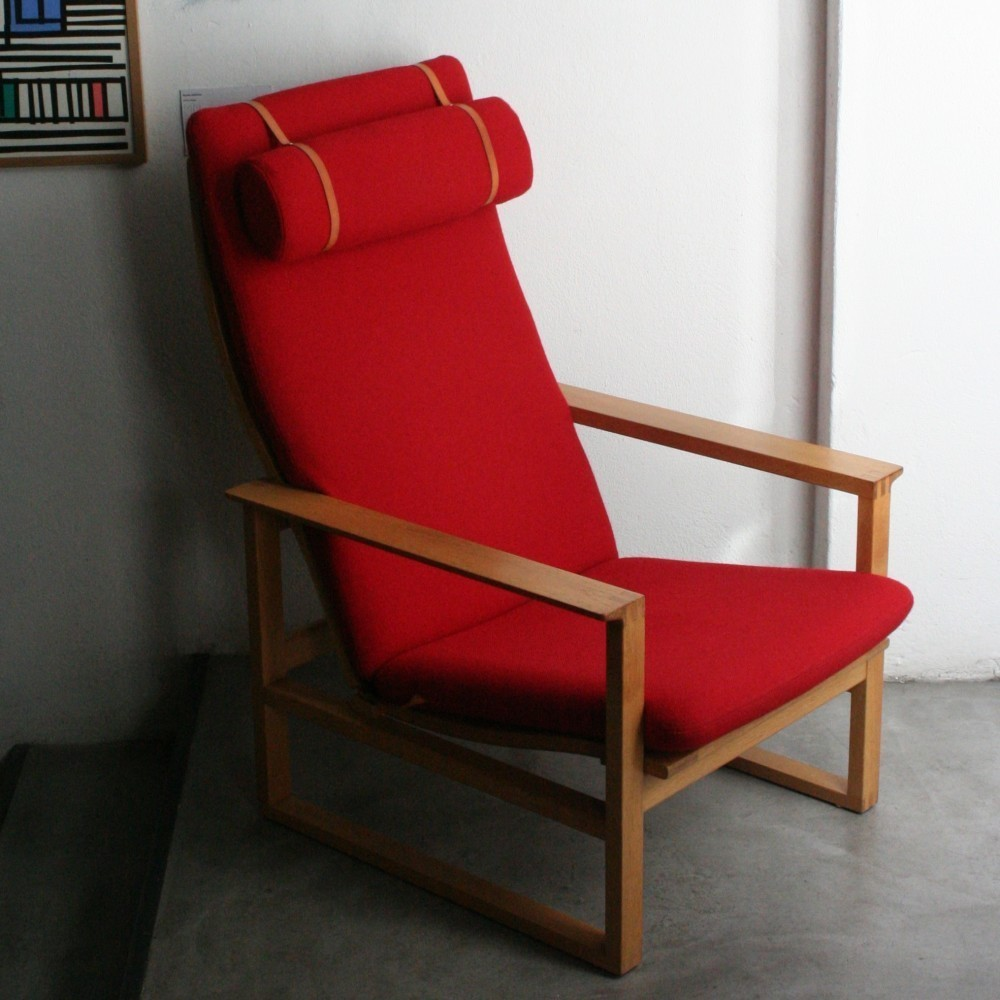 BM 2254 Lounge Chair by Børge Mogensen for Fredericia
