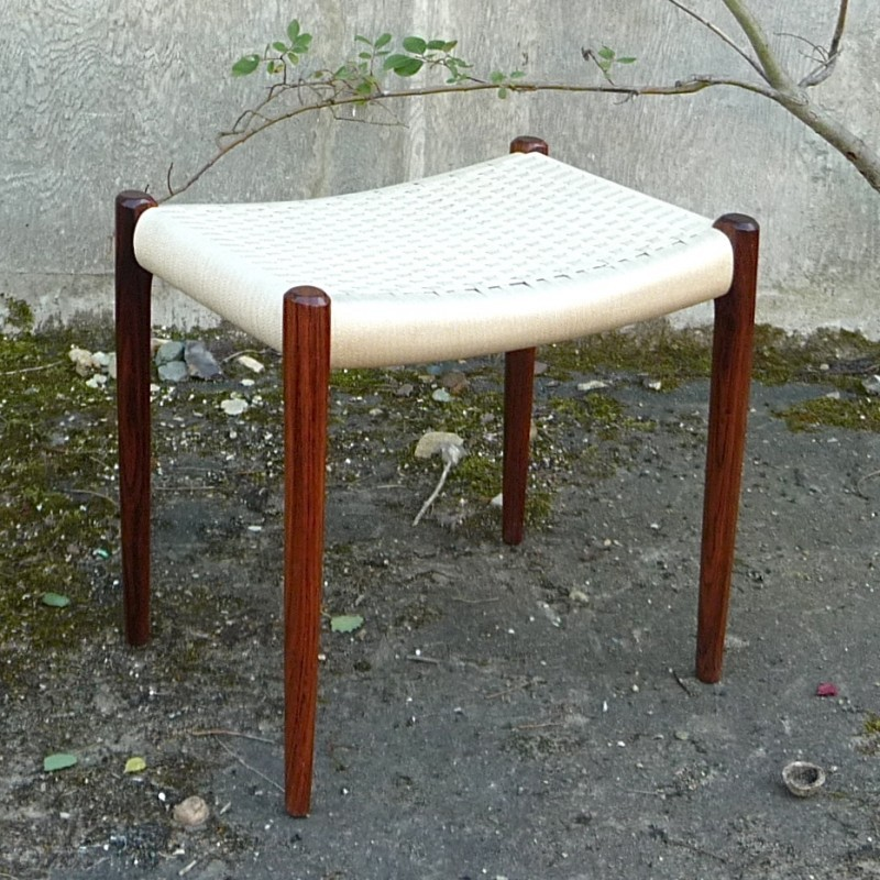 Model No. 80A Stool by Niels Otto Møller for J L Møller