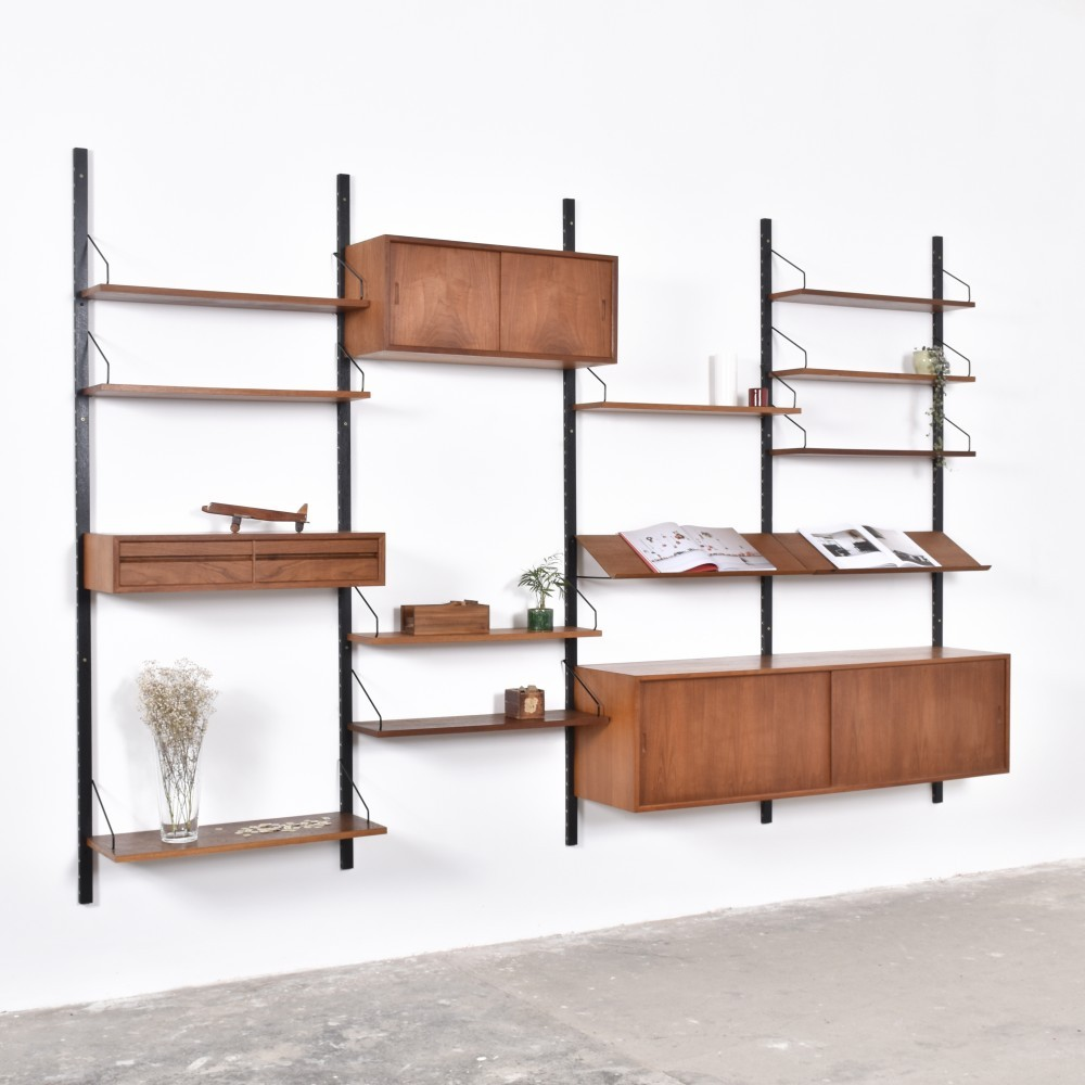 best sneakers a341c c945c Royal System wall unit by Poul Cadovius for Cado, 1950s | #49714
