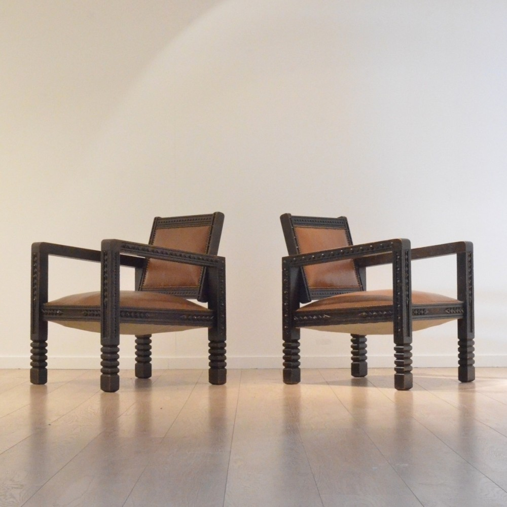 Fantastic Pair Of Vintage Lounge Chairs 1920S 49740 Ocoug Best Dining Table And Chair Ideas Images Ocougorg