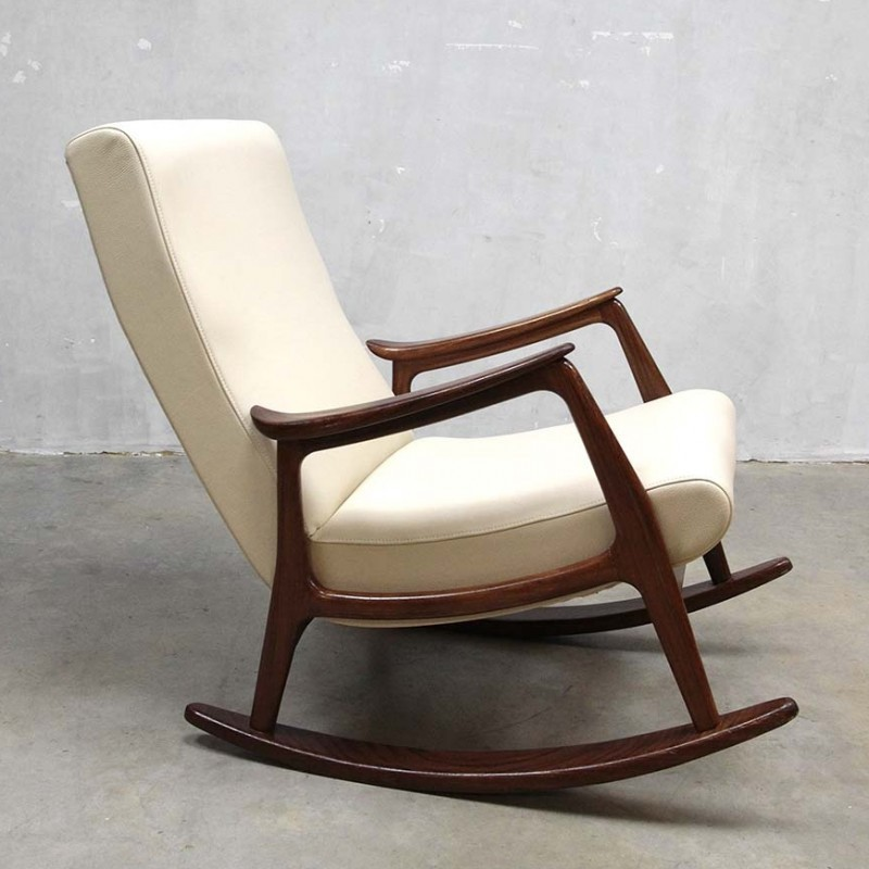Rocking Chair From The Fifties By Louis Van Teeffelen For W B 49814