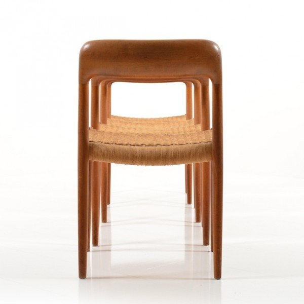 75 Dinner Chair by Niels Otto Møller for JL Møller Møbelfabrik