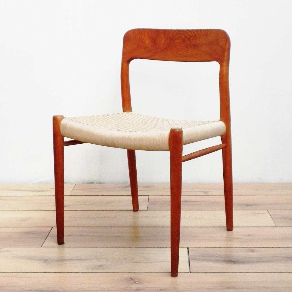 75 Dinner Chair by Niels Otto Møller for Moller
