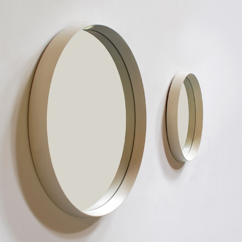 Pair of Circular mirrors by Schöninger, 1960s