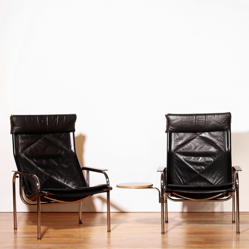 Pair of lounge chairs by Hans Eichenberger for Strässle, 1960s