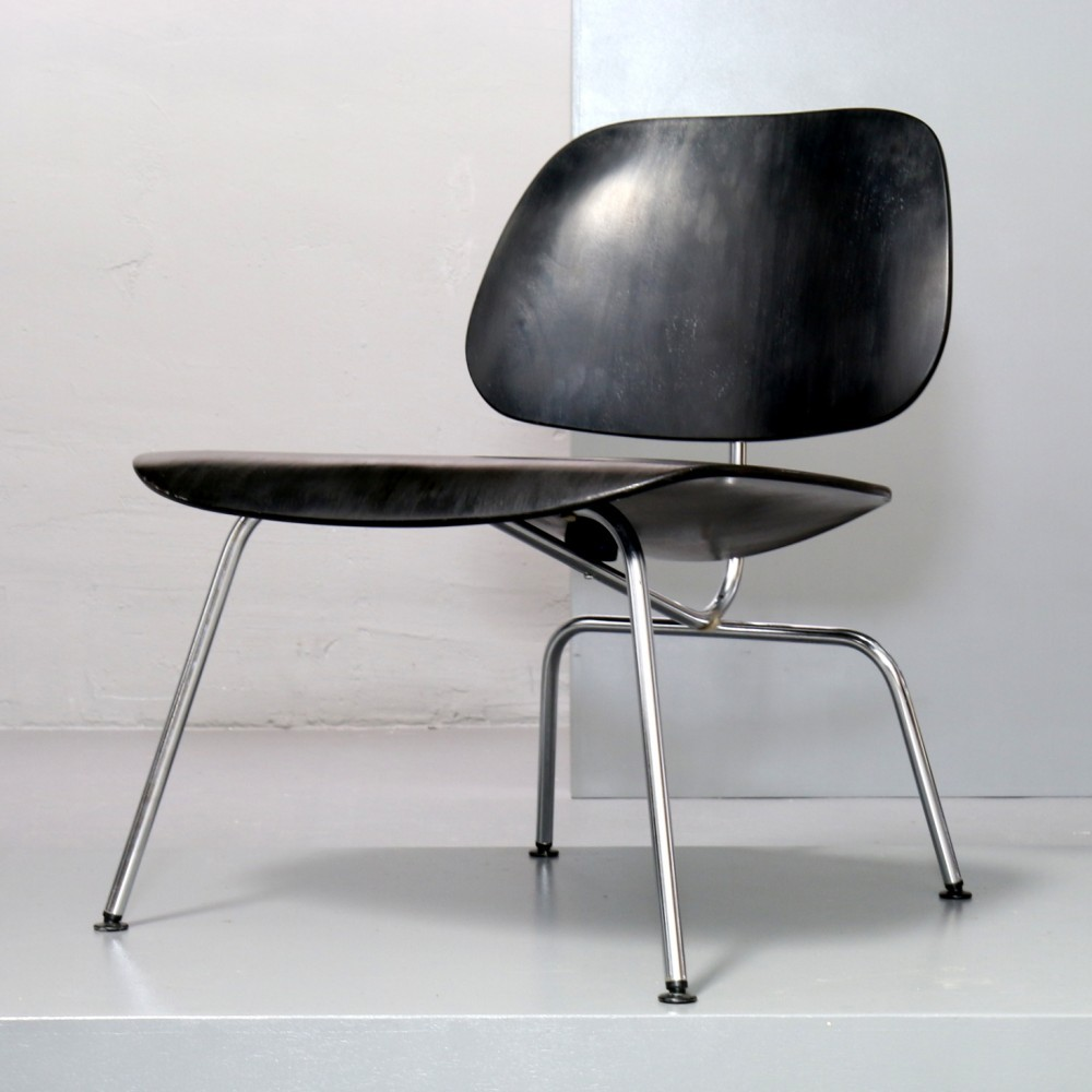 LCM Lounge Chair Metal Lounge Chair by Charles and Ray Eames for Herman Mille
