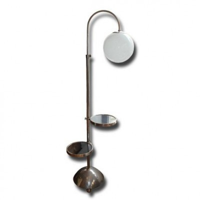 Bauhaus floor lamp by vichr a spol 1930s 51126 bauhaus floor lamp by vichr a spol 1930s aloadofball Image collections
