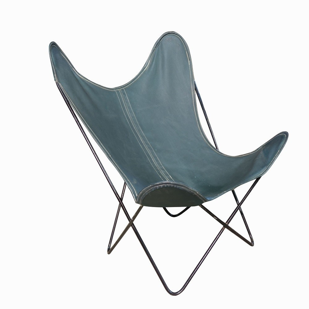 Butterfly Lounge Chair by Jorge Ferrari Hardoy for Unknown Manufacturer