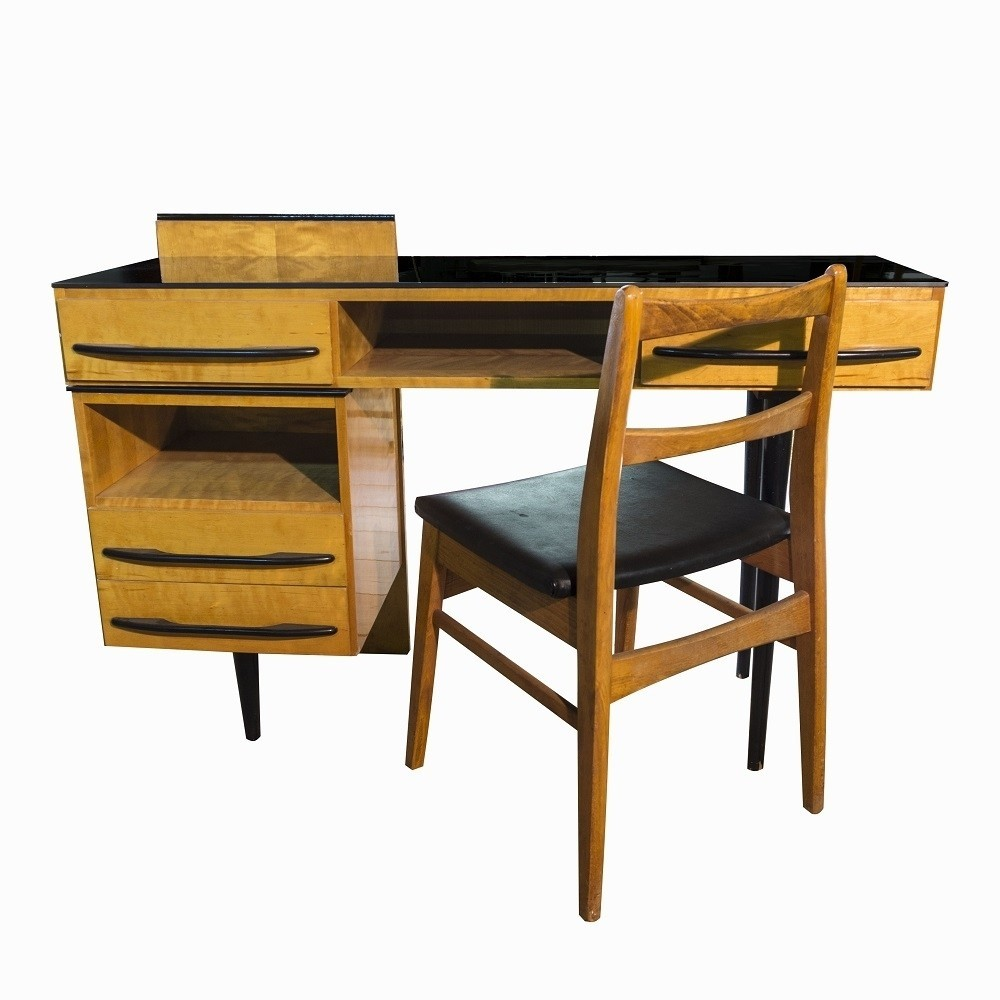 ladies writing desk by jitona sobslav 1960s