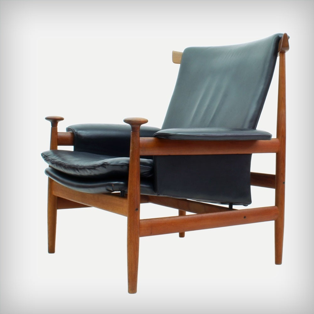 152 Bwana Lounge Chair by Finn Juhl for France and Son
