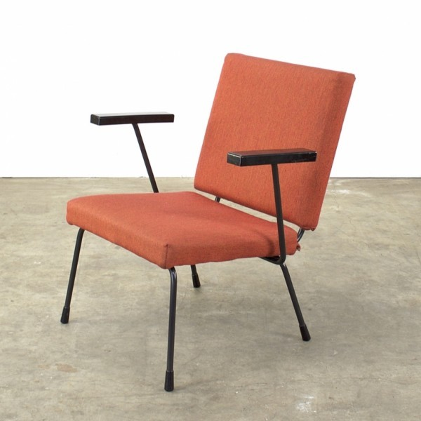 Model 1401 Lounge Chair by Wim Rietveld for Gispen