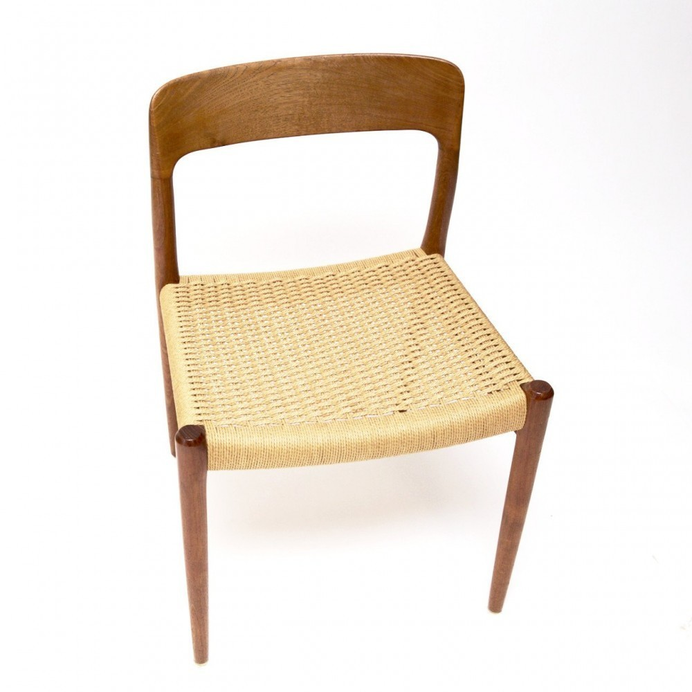 Model 75 Dinner Chair by Niels Otto Møller for Unknown Manufacturer