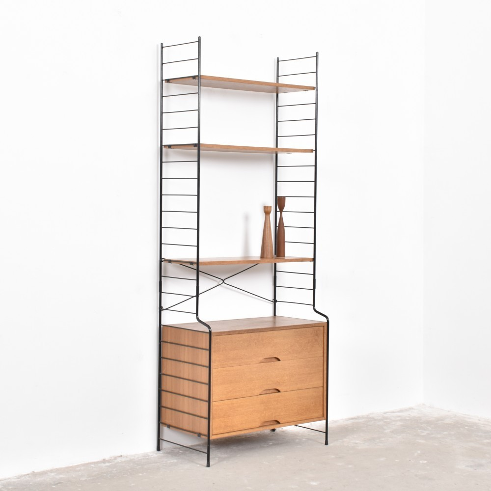 Wall Unit from the fifties by Unknown Designer for WHB