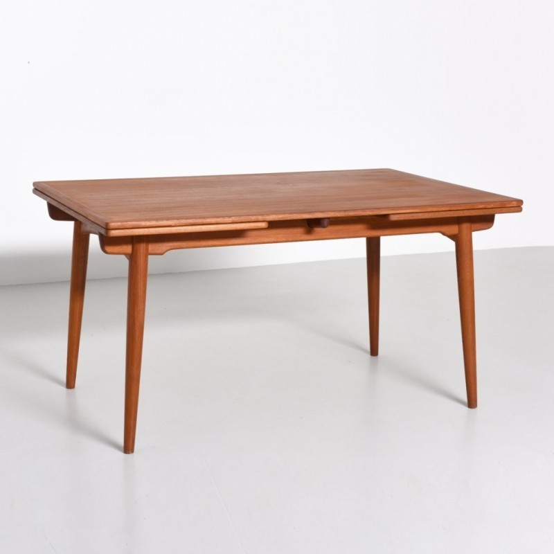 AT-312 Dining Table by Hans Wegner for Andreas Tuck