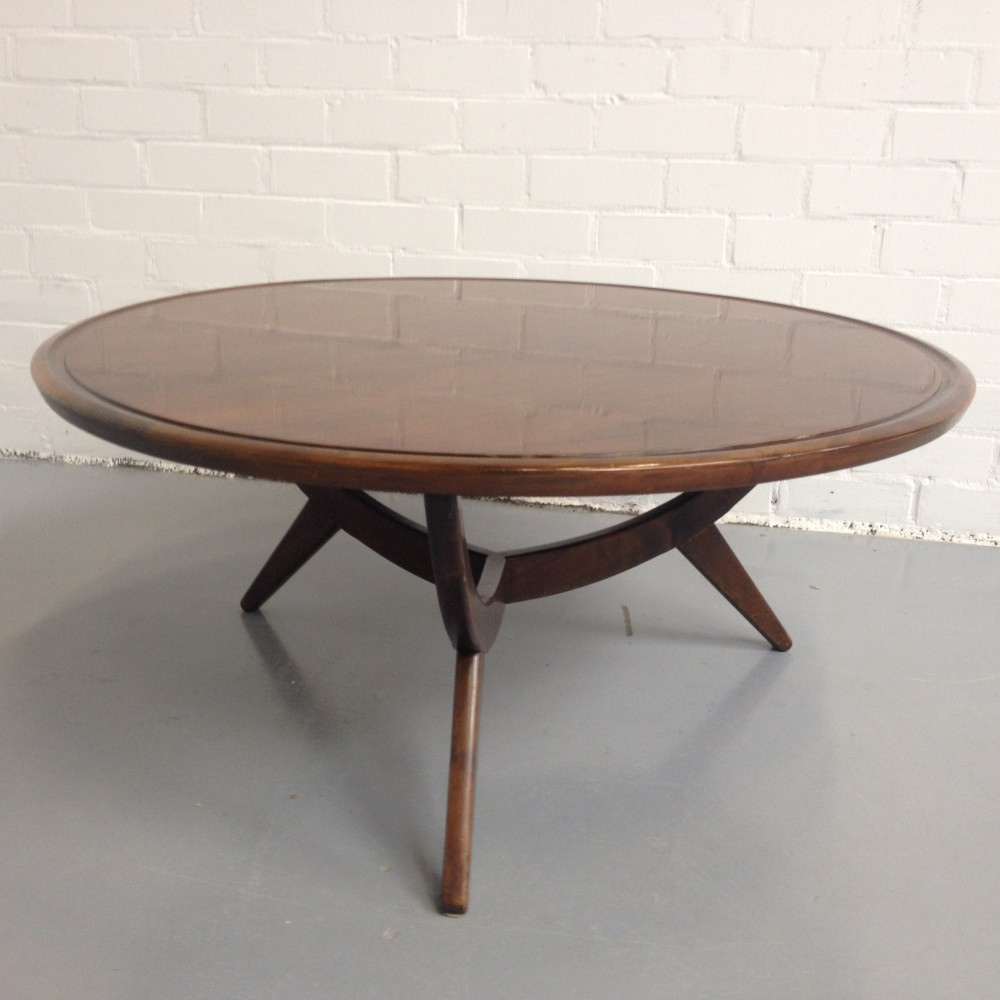 Poly Z coffee table by A. Patijn for Zijlstra Joure, 1950s