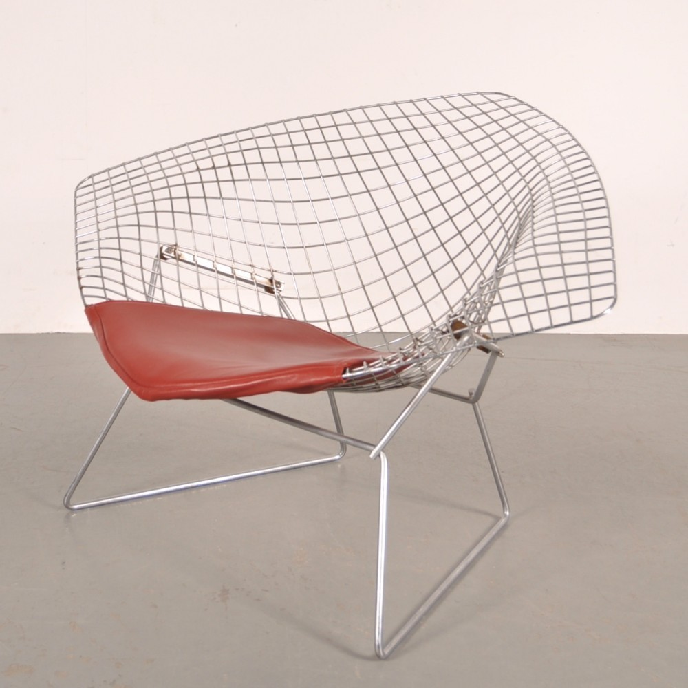 Diamond lounge chair by Harry Bertoia for Knoll 1960s & Diamond lounge chair by Harry Bertoia for Knoll 1960s | #52789
