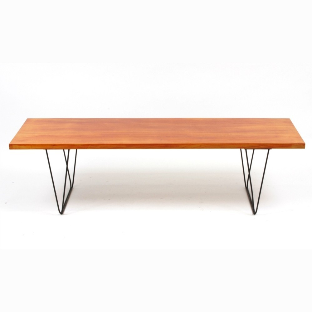 cm191 coffee tablepierre paulin for thonet, 1950s | #53077