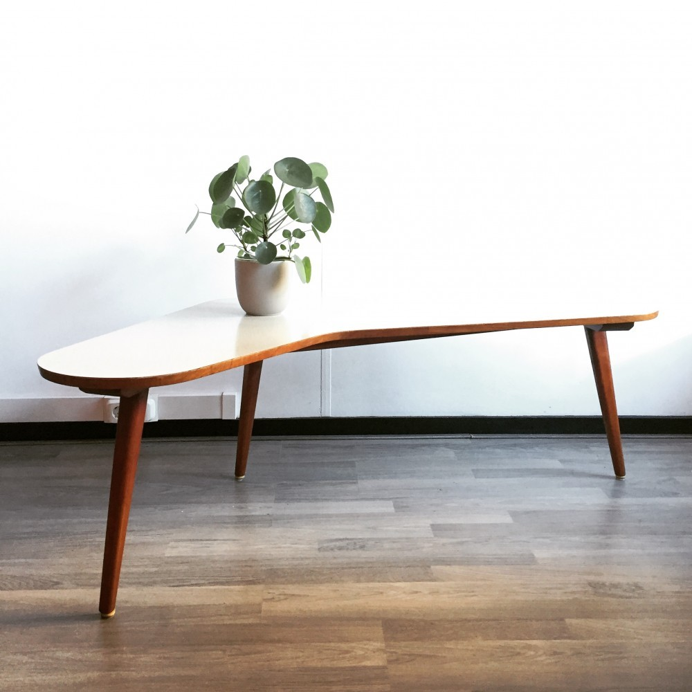 Pleasing Boomerang Coffee Table By Bovenkamp 1960S 53083 Evergreenethics Interior Chair Design Evergreenethicsorg