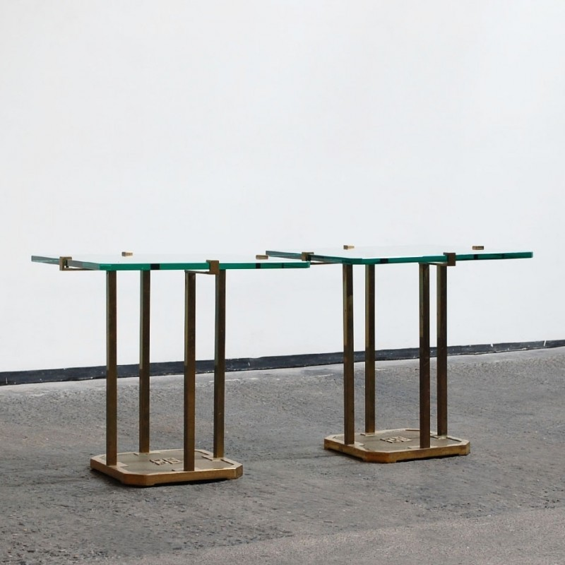 Pair of side tables by Peter Ghyczy for Ghyczy, 1970s  #53399