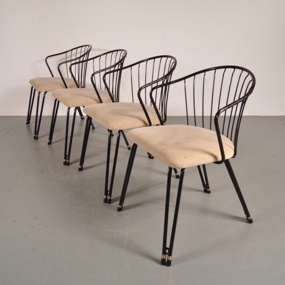Stupendous Set Of 4 Daystrom Furniture Dining Chairs 1950S 53400 Evergreenethics Interior Chair Design Evergreenethicsorg