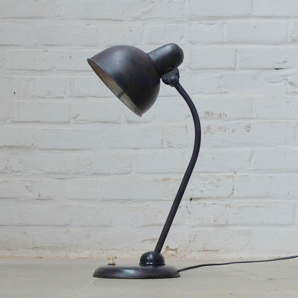 kaiser idell desk lamp by christian dell for kaiser leuchten 1930s 53419. Black Bedroom Furniture Sets. Home Design Ideas