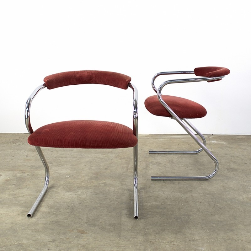 Pair of Lammhults dinner chairs, 1970s #53478
