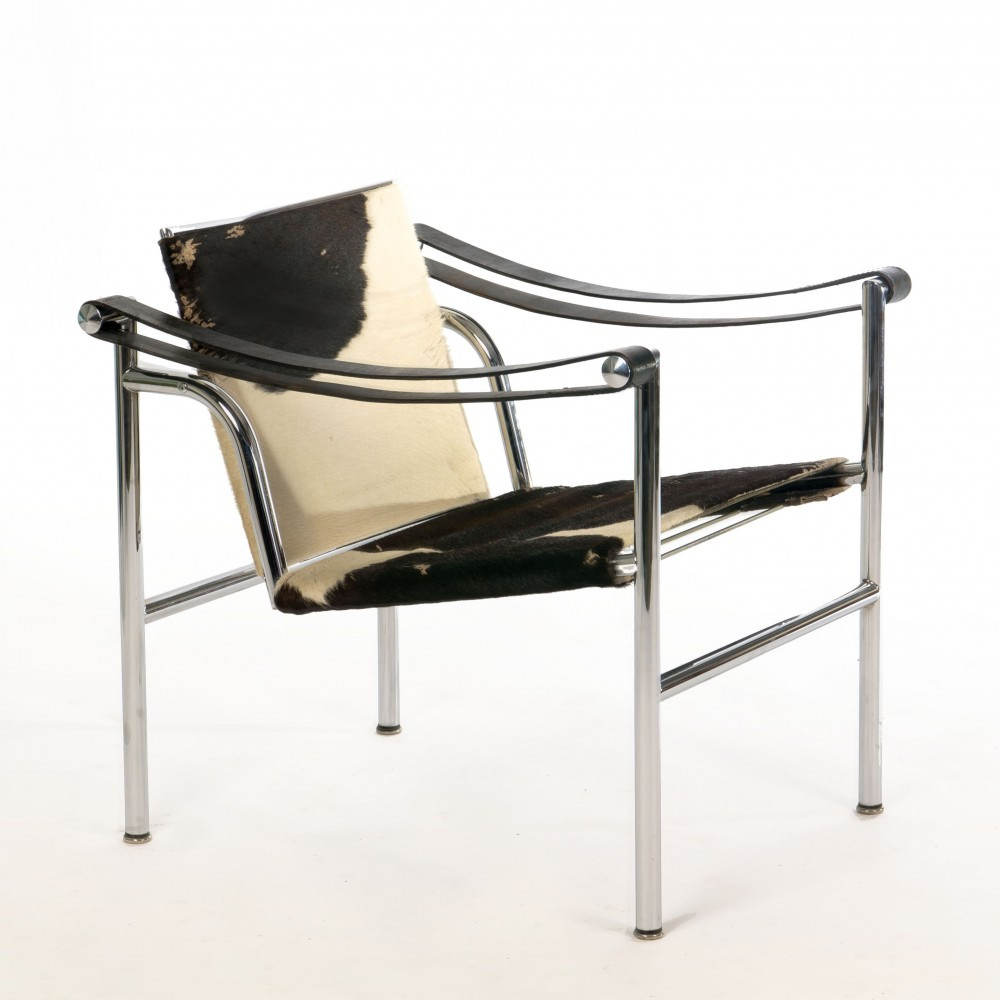 Lc1 Ponyskin Lounge Chair By Le Corbusier For Cassina