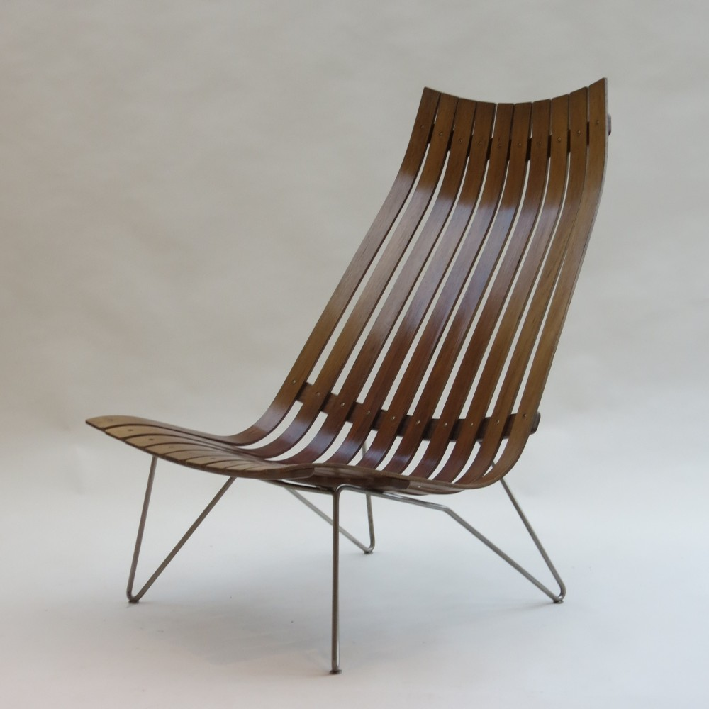 Skandia Lounge Chair By Hans Brattrud For Hove Möbler, 1960s
