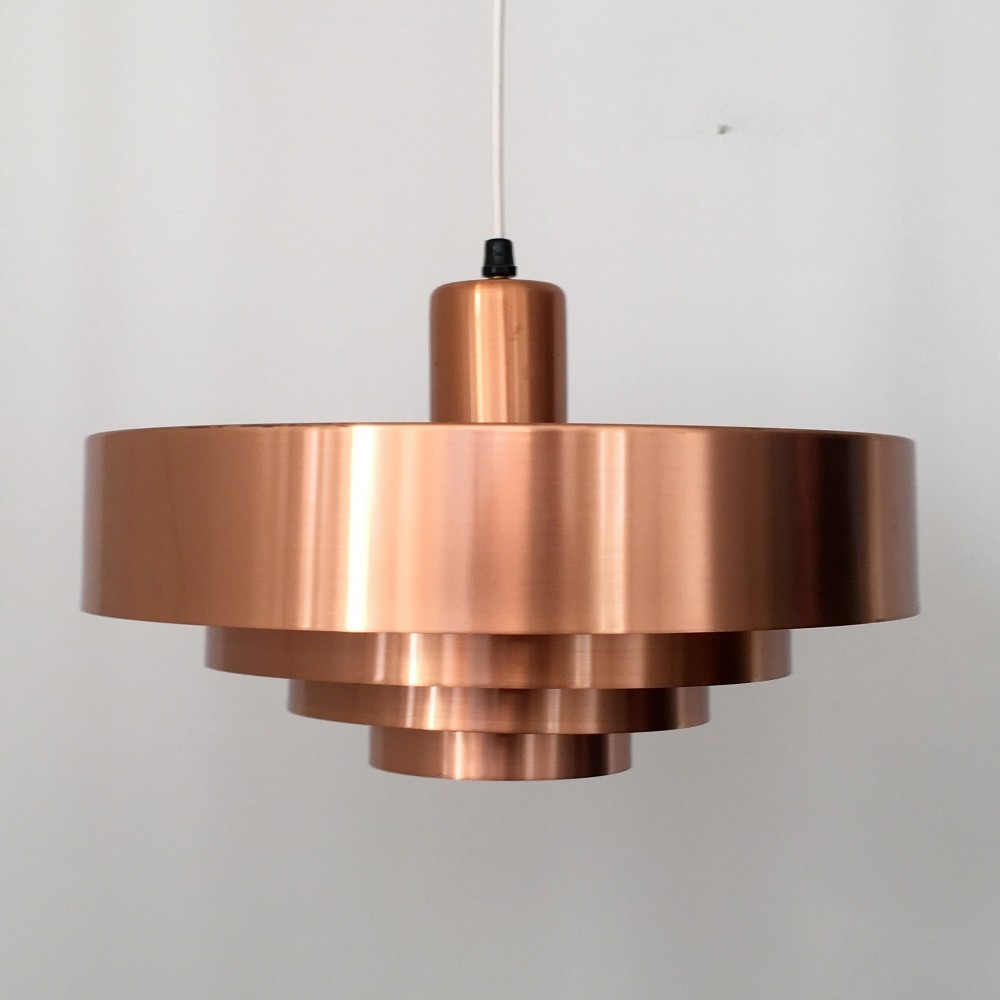 3 Roulet hanging lamps from the sixties by Jo Hammerborg for Fog & Mørup
