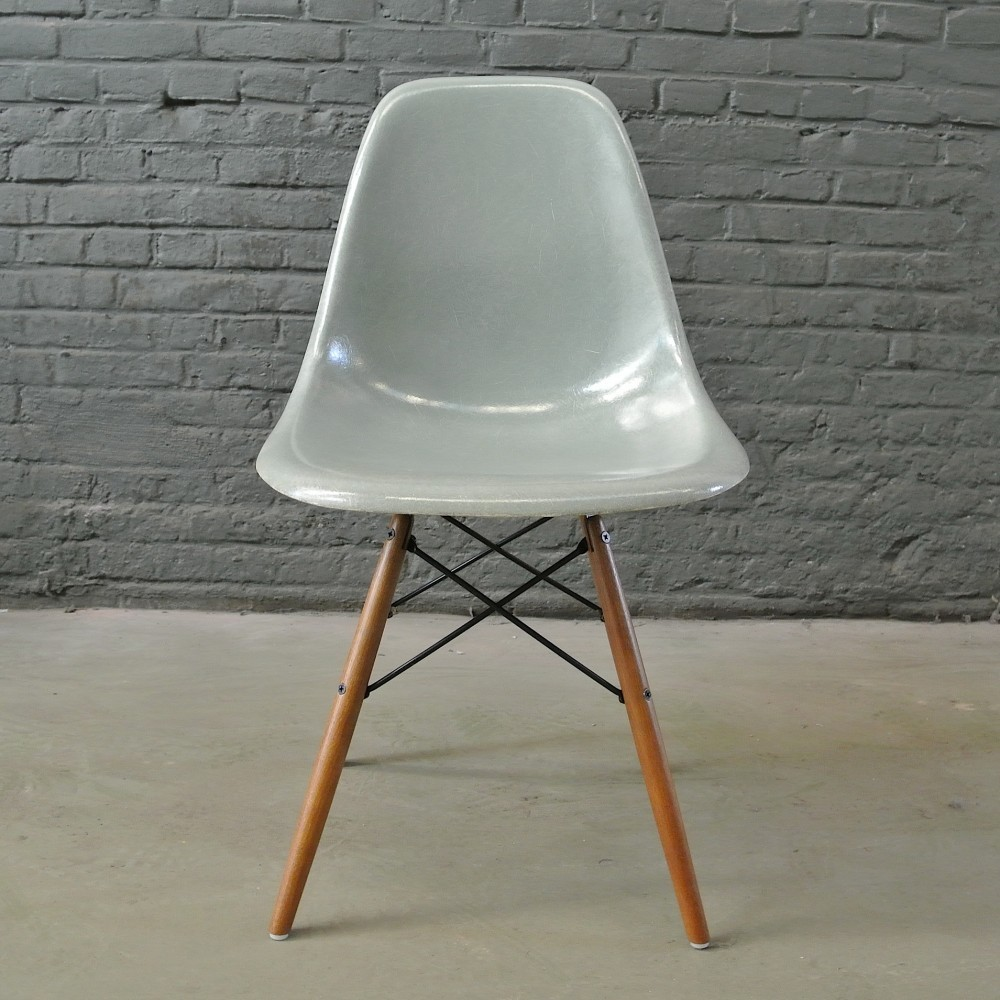 Incredible 2 X Dsw Seafoam Green Dining Chair By Charles Ray Eames Interior Design Ideas Ghosoteloinfo