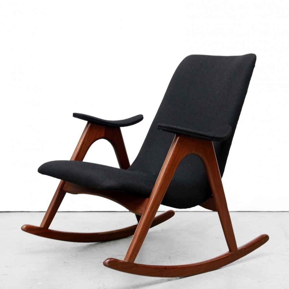 Rocking Chair from the fifties by Louis van Teeffelen for Wébé