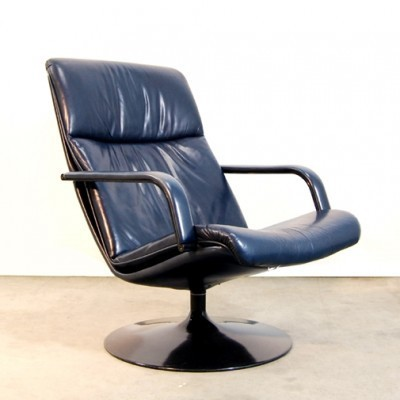 F196 Lounge Chair by Geoffrey Harcourt for Artifort