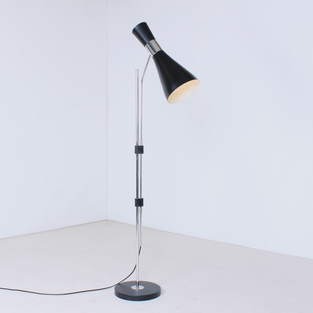 Floor lamp by Jo Hammerborg for Fog & Mørup, 1960s