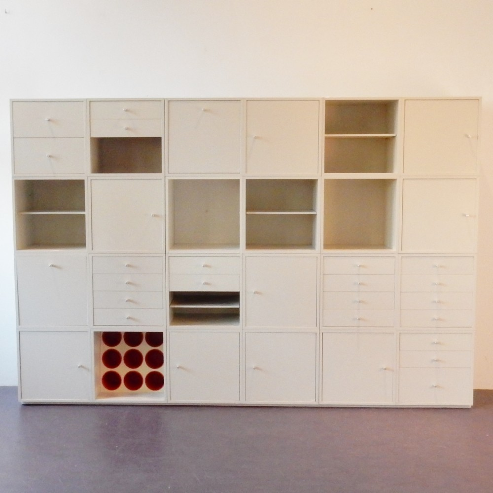 Q-bus wall unit by Cees Braakman for Pastoe, 1960s