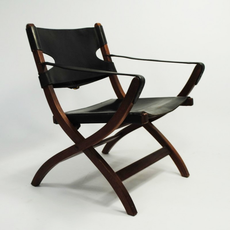 Campaign Chair / PH70 Dinner Chair By Poul Hundevad For Vamdrup, 1950s