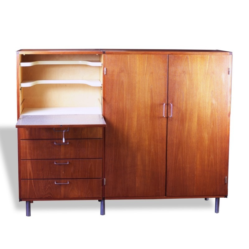 Made To Measure Highboard Sideboard from the fifties by Cees Braakman for Pastoe