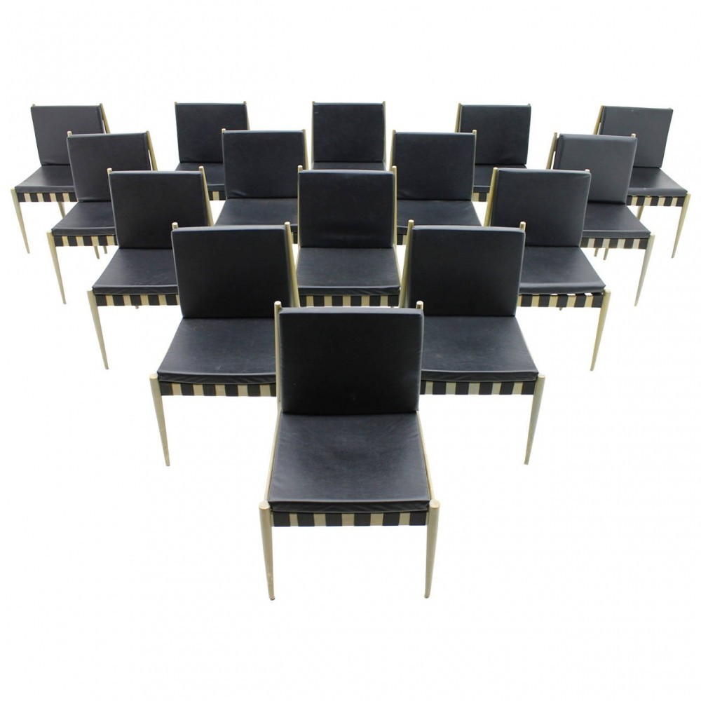 se 121 dinner chair by egon eiermann for wilde und spieth 54679. Black Bedroom Furniture Sets. Home Design Ideas
