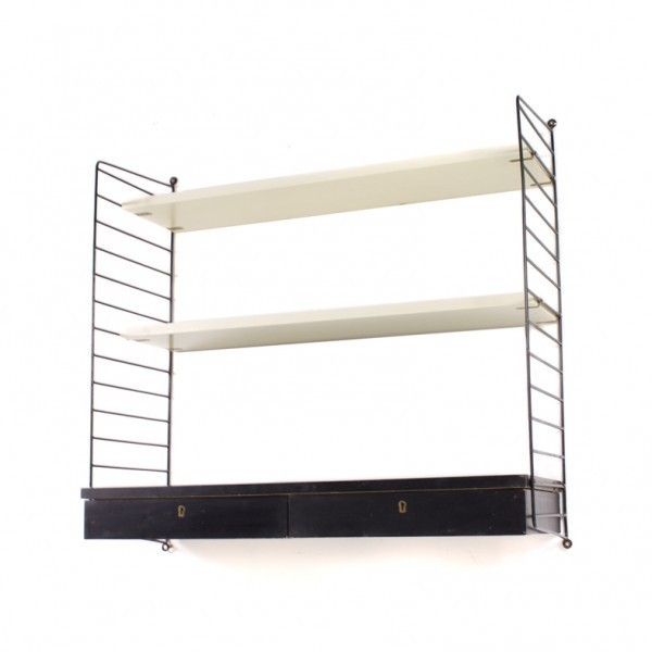 Nisse Strinning wall unit by nisse strinning for string design ab 1970s 54881