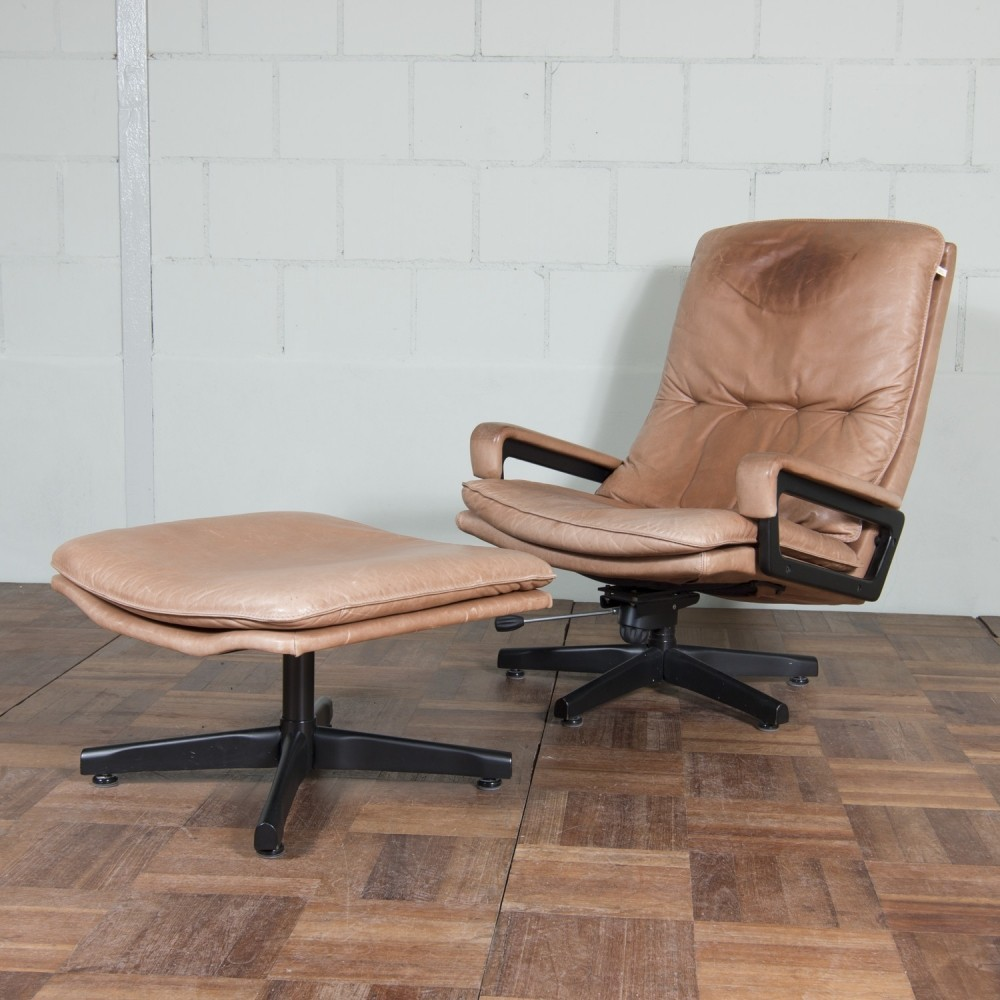 King lounge chair by André Vandenbeuck for Strässle, 1970s