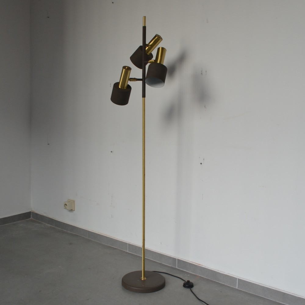 Floor Lamp from the sixties by Jo Hammerborg for Fog & Mørup