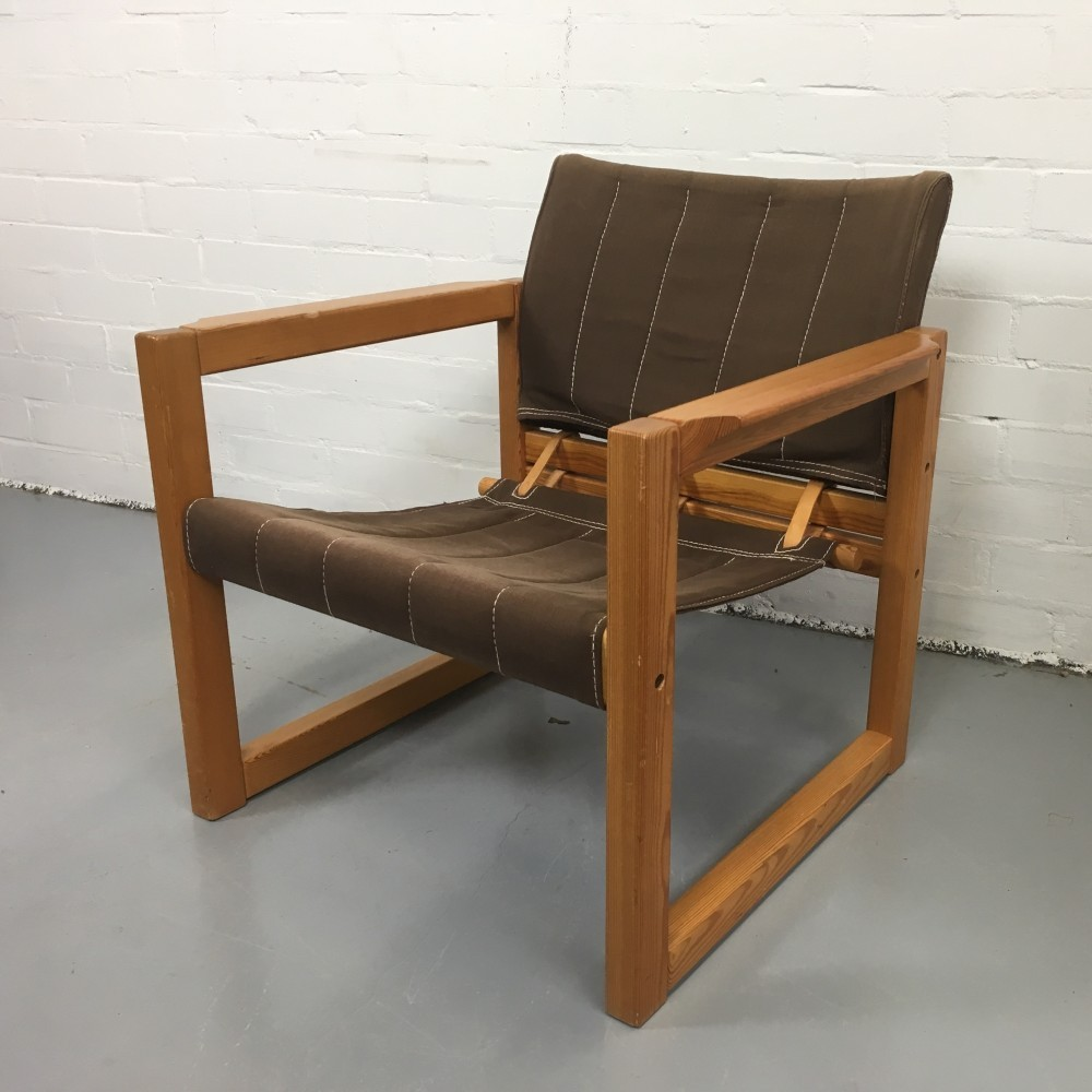 lounge chair by karin mobring for ikea 1970s 55280. Black Bedroom Furniture Sets. Home Design Ideas