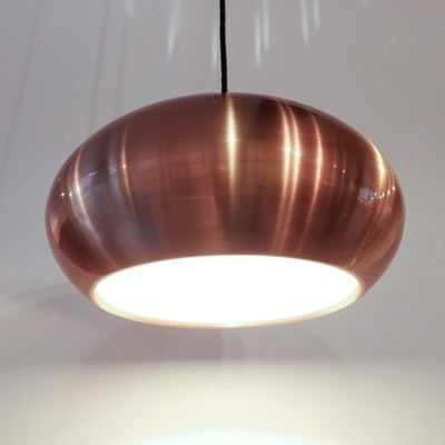 Set of 2 Medio hanging lamps from the sixties by Jo Hammerborg for Fog & Mørup