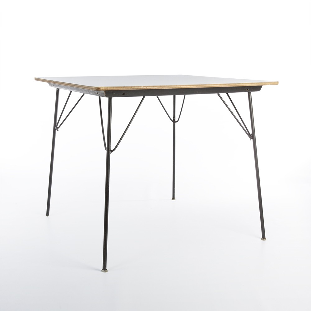 dtm drop table dining table by charles ray eames for. Black Bedroom Furniture Sets. Home Design Ideas