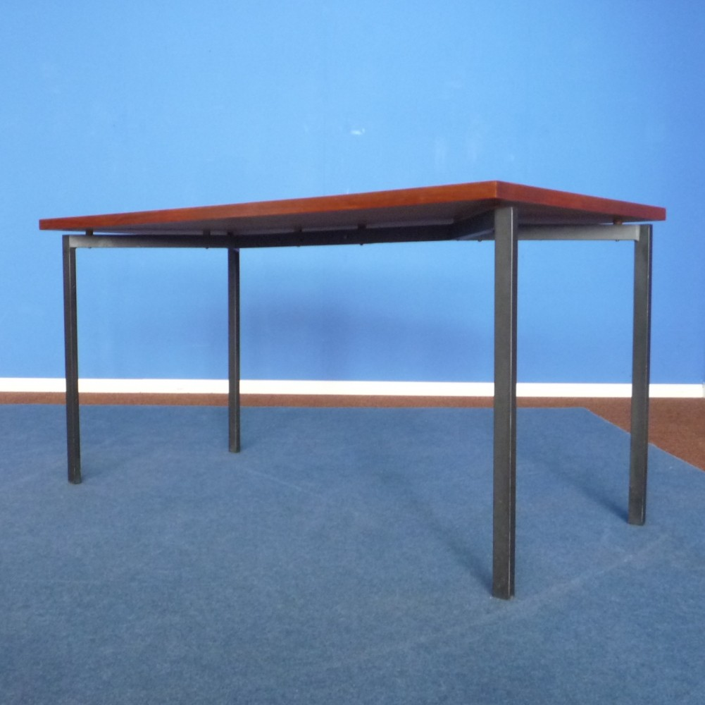Teak Dining Table by Herbert Hirche for Holzäpfel 1950s