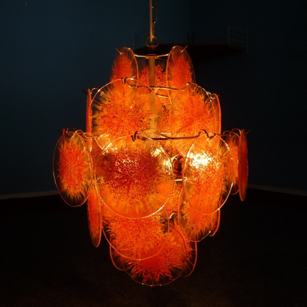 Ceiling Lamp from the sixties by Gino Vistosi for Murano