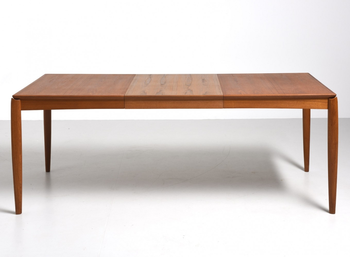 Dining Table By H.W.Klein For Bramin With 1 Extension, Teak