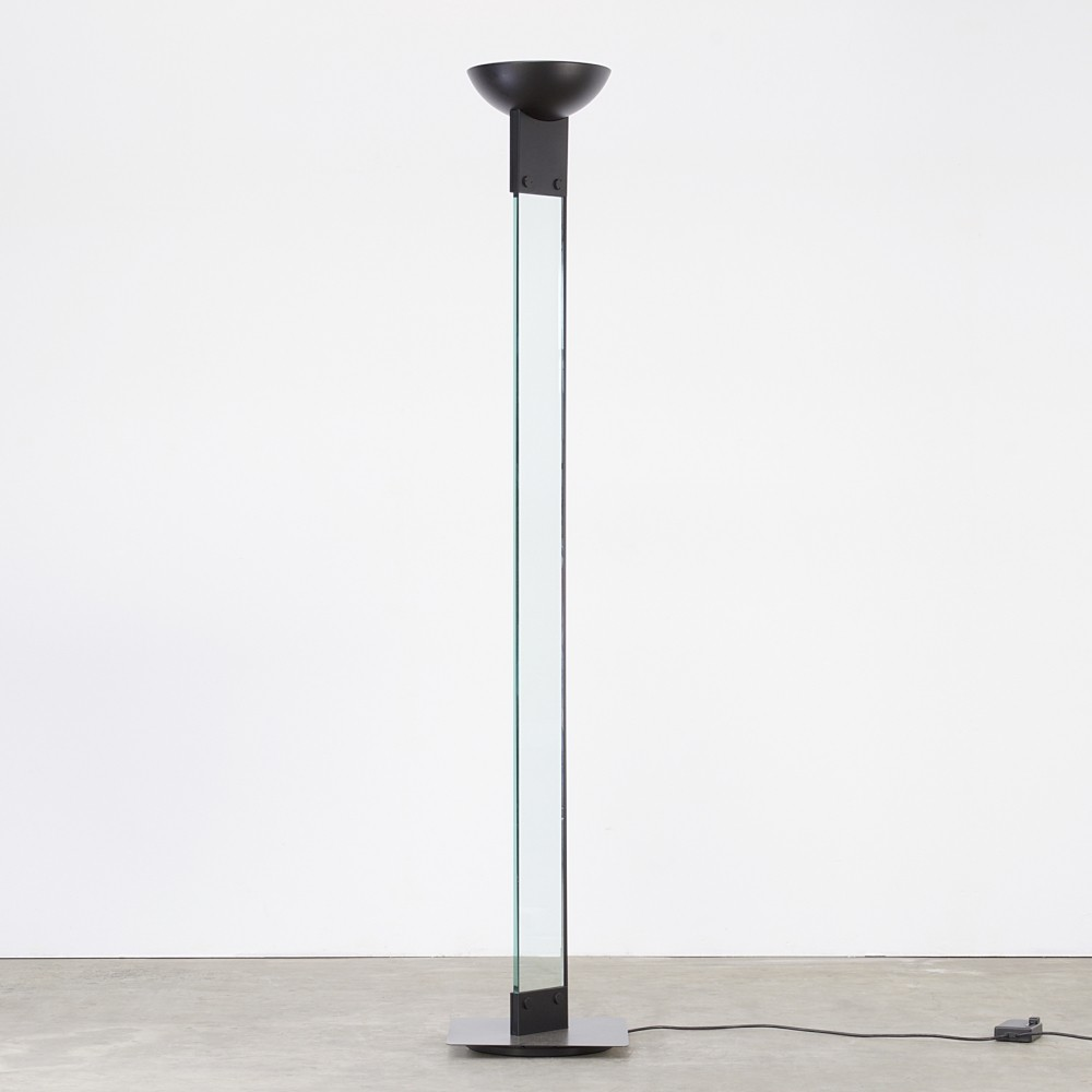 Laser uplighter floor lamp by max baguara for lamperti for Floor uplighters