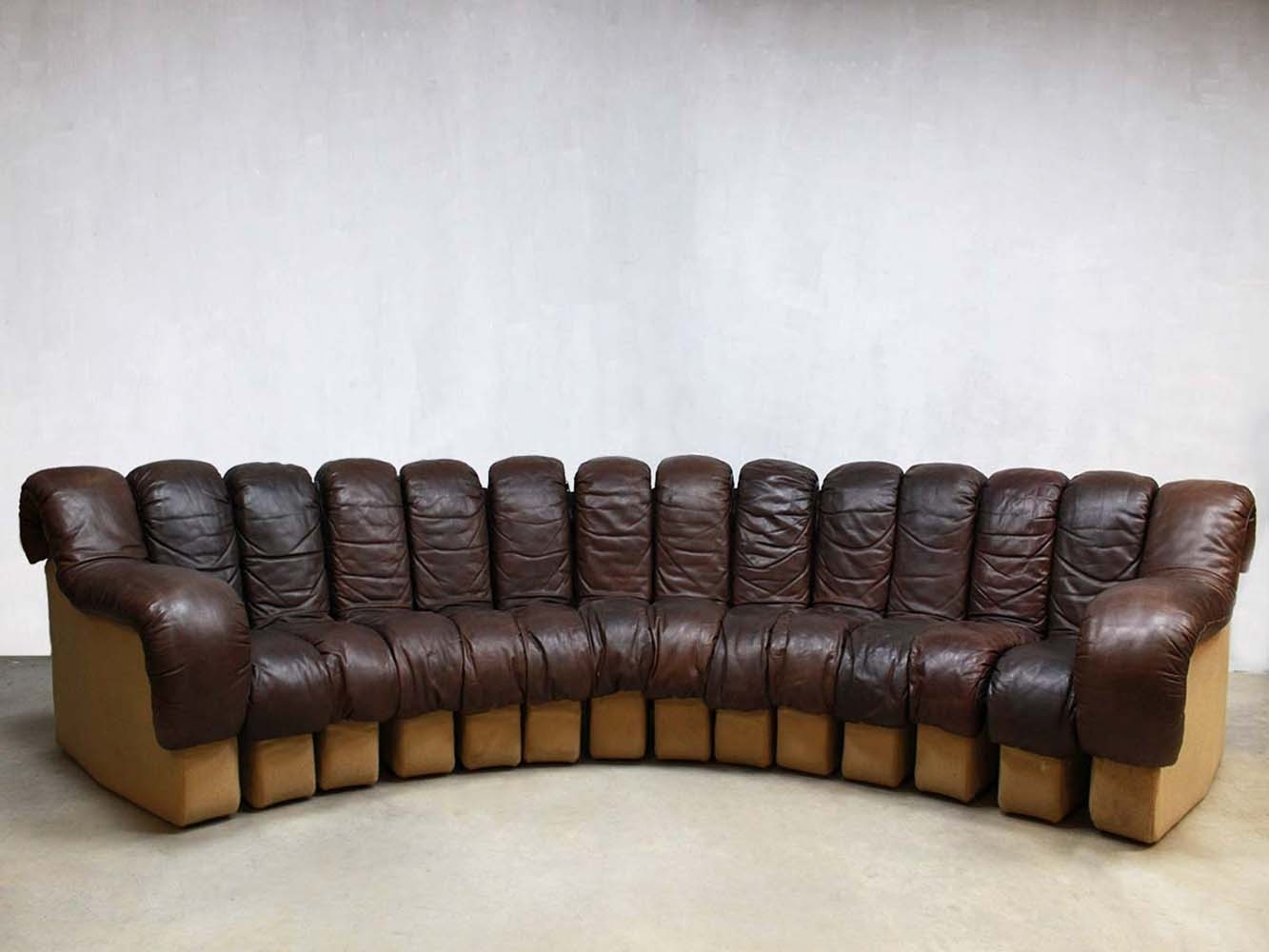 ds 600 sofa by ueli berger eleonore peduzzi riva for de sede 1970s 56820. Black Bedroom Furniture Sets. Home Design Ideas