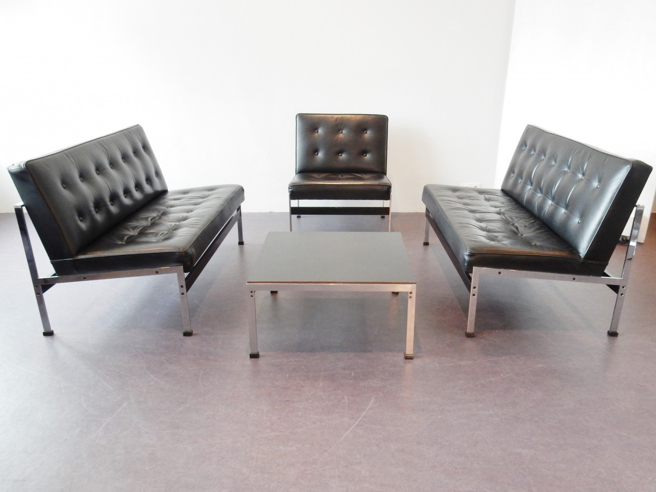 Model 020 seating group by Kho Liang Ie for Artifort, 1950s