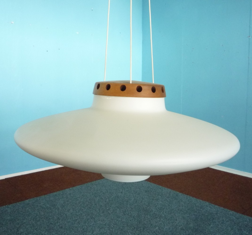 Hanging Lamp from the sixties by Uno & Östen Kristiansson for Luxus